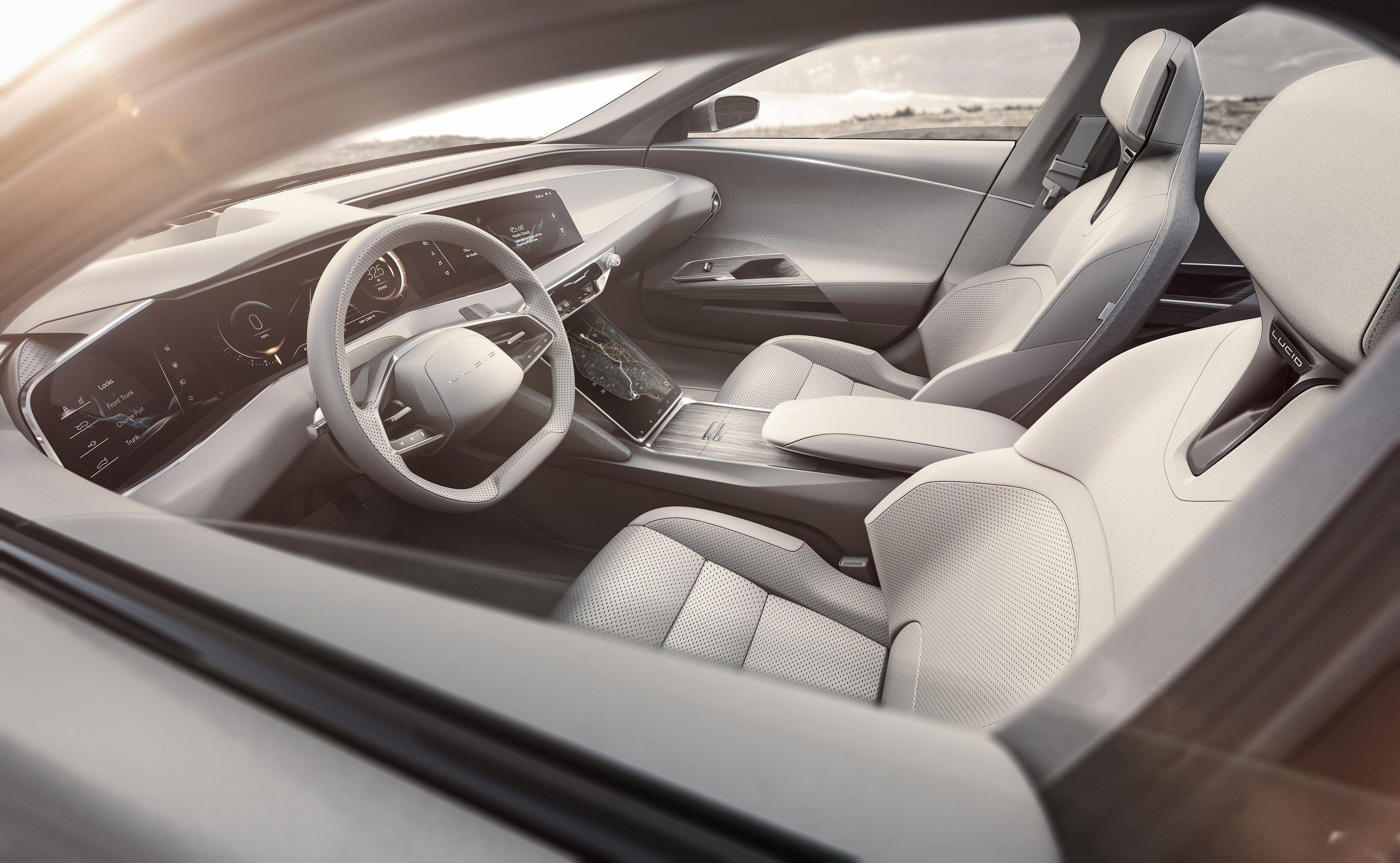 3733x2303 Lucid Air 4k Hd Wallpaper Desktop Car Interior Sketch Luxury Cars Air Car