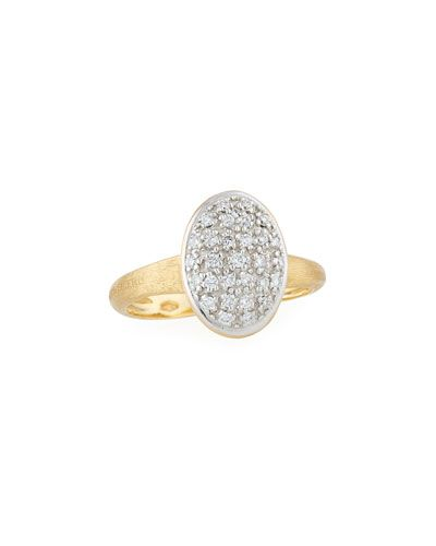 Marco Bicego 18k Diamond Pavé Ring kcG8yGPMvG