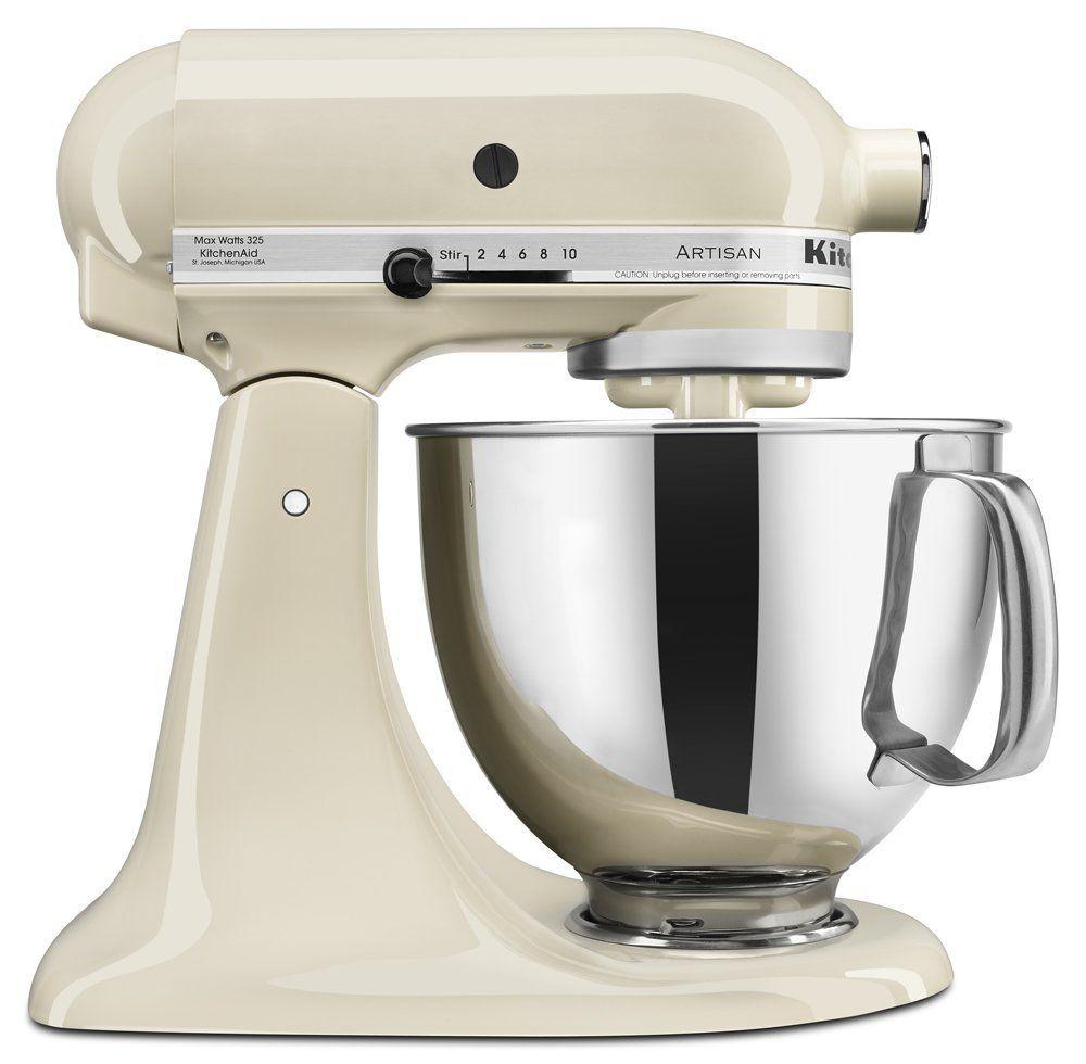 Amazon.com: KitchenAid KSM150PSAC 5-Qt. Serie Artesanal con Verter ...
