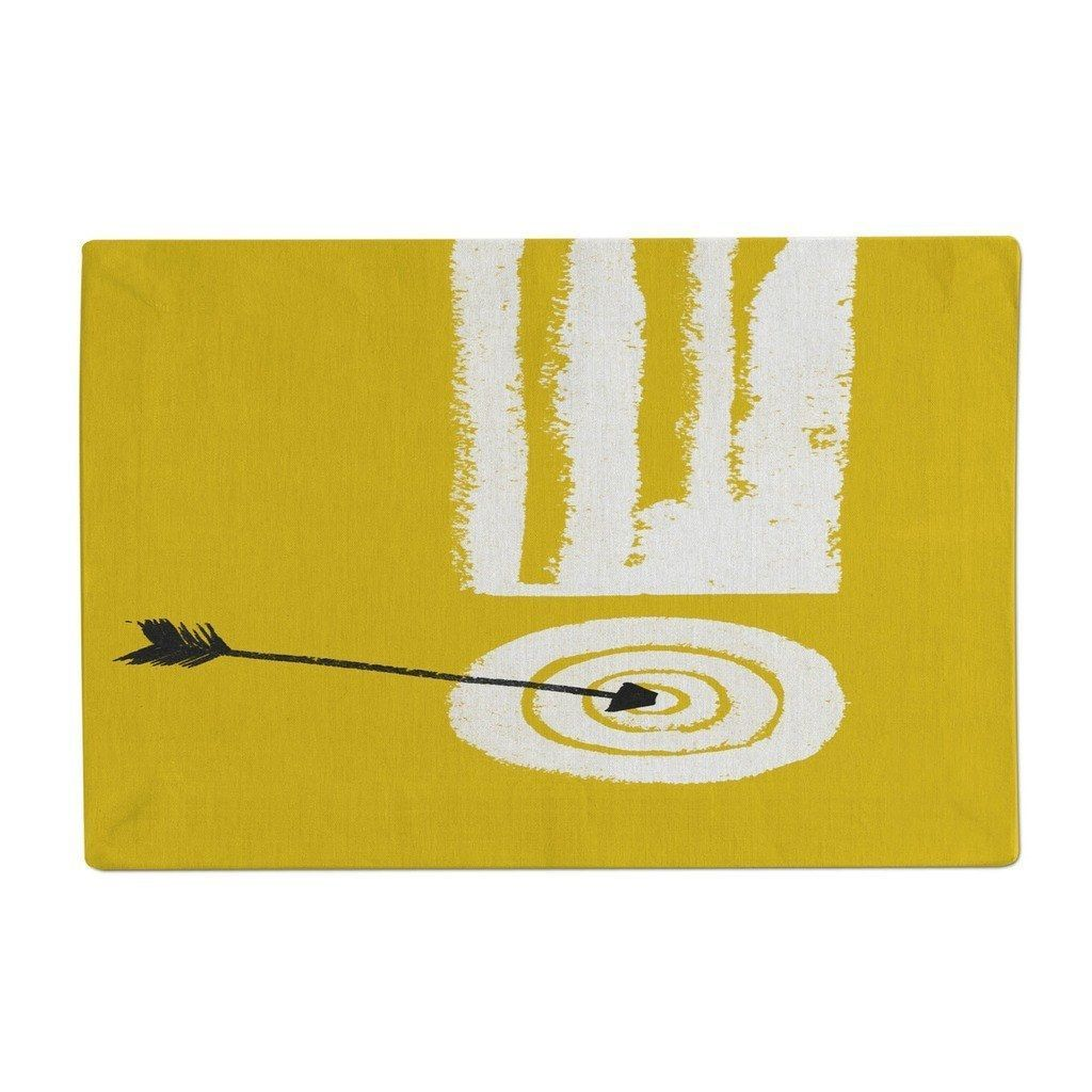 Bullseye and arrow