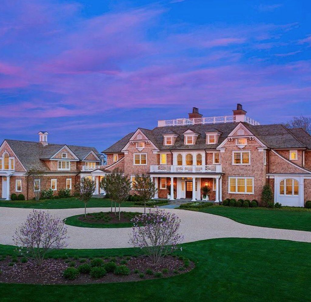 Beautiful red stone brick mansion Mansions, Expensive houses