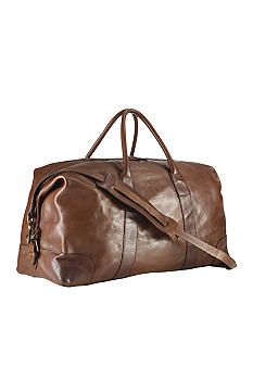 25b4980dbaf5 Polo Ralph Lauren Leather Duffel x x Duffle Bags - Brown