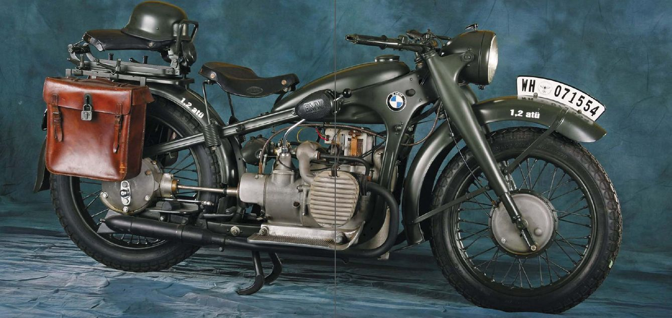 The 1939 Bmw R12 Military Motorcycle Military Motorcycle Motorcycle