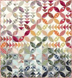 """free pdf design Tula Pink. This is not in English, but I can figure out the measurements.  It measure approx. 73""""x80"""" and is from the Moonshine collection  by Tula Pink.  I think it's called Bird Seeds."""