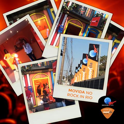 Depois de curtir os shows do #RockInRio, que tal dar uma voltinha pela Cidade do Rock?   A #MovidaRentACar é a locadora oficial do festival. Visite nossa loja-conceito na rua Rock Street!