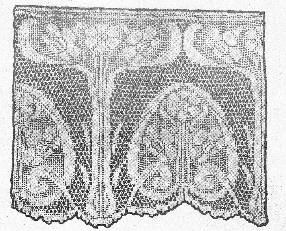 Vintage Arts And Craft Art Nouveau Crochet Patterns Narcissus Pdf With Images Art Deco Pattern Art Nouveau Pattern