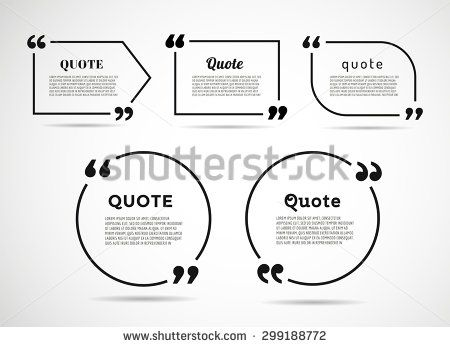 Quote Blank Template Quote Bubble Empty Template Circle   Free Quote Form  Template  Free Quote Form Template