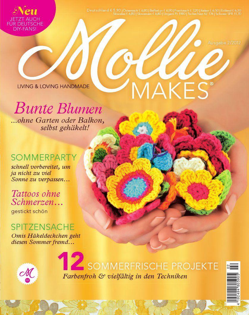 mollie makes magazin - #diy projekte für den sommer! | 01 crochet