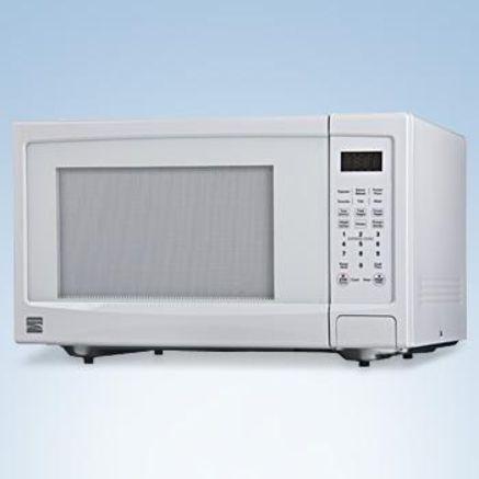Kenmore Md 1 6 Cu Ft Sensor Countertop Microwave White