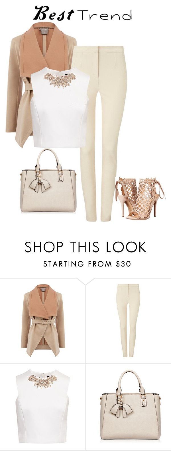 """""""Best Trend"""" by salahmariamghazaly on Polyvore featuring Oasis, Phase Eight, Ted Baker and Marchesa"""