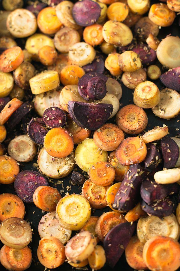 Oil Free Roasted Carrots Recipe Roasted carrots, Vegan