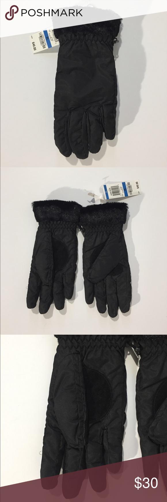 NWT Charter Club Black Fabric Gloves NWT Clothes design