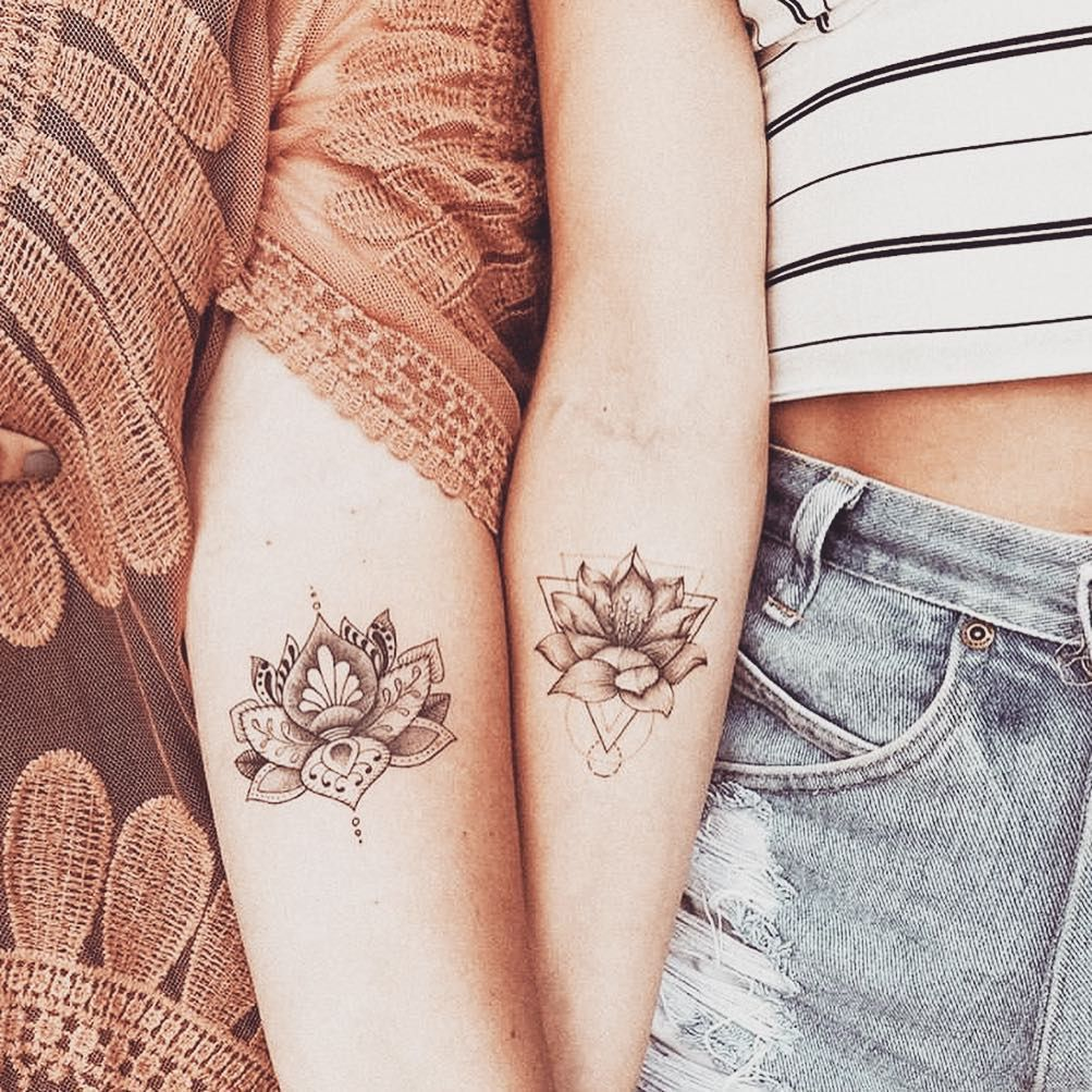 22 Cute Tiny Friendship Tattoos Ideas for girls