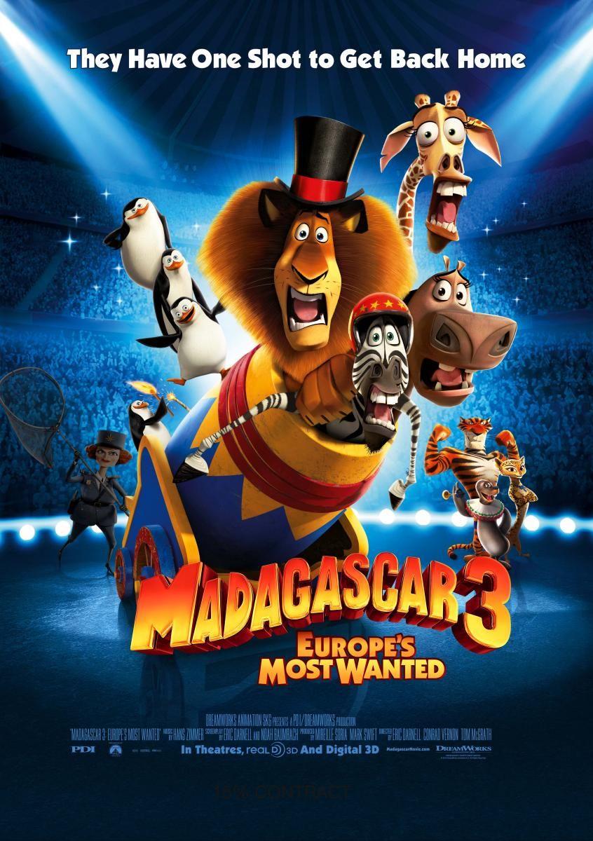Madagascar 3 Europe S Most Wanted 2012 De 2019 Filme