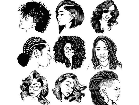 Pin By Patience Rogan On Appetite Afro Hair Drawing Drawing Black Hair How To Draw Braids