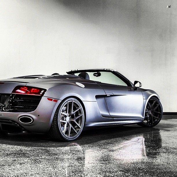 Love This Matte Grey Audi R8