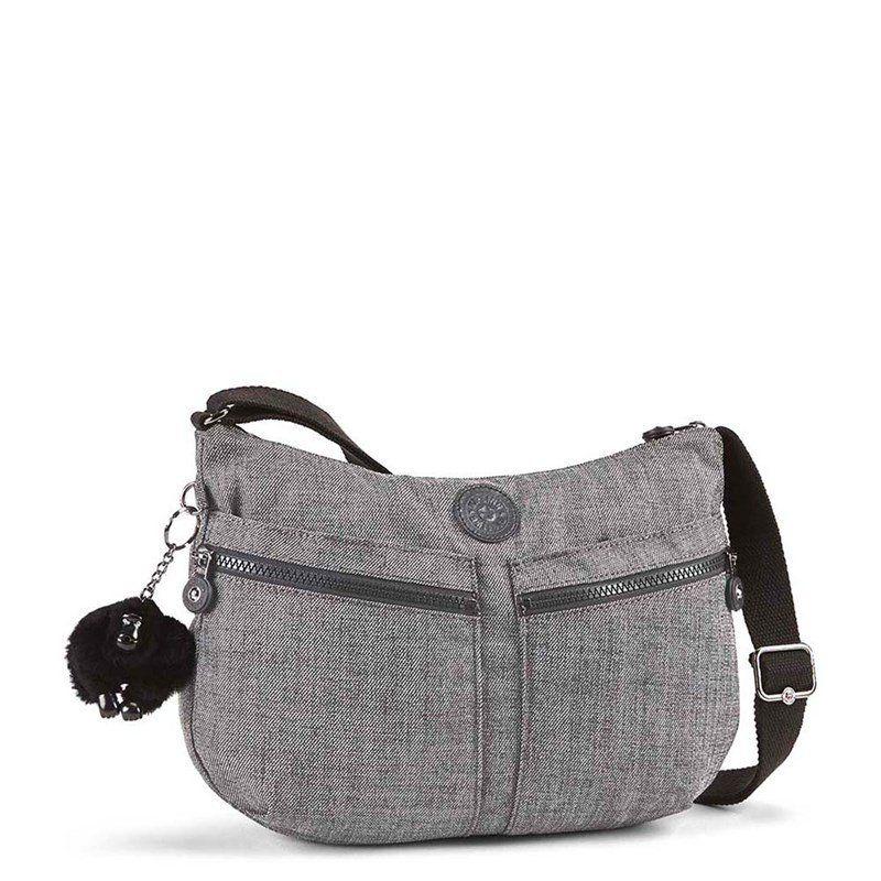 765402a36 Compre KIPLING : Bolsa Transversal Izellah Cinza Cotton Grey Kipling por  R$549,00 -