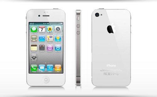 Apple Iphone 4 8GB бял с 24 месеца гаранция