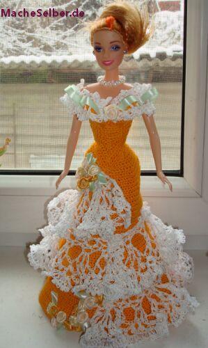 Puppenkleidung häkeln | Barbie | Pinterest | Puppenkleidung häkeln ...