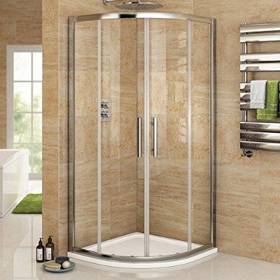 800 x 800 mm Luxury Sliding Quadrant Easy Clean Glass Shower Corner ...