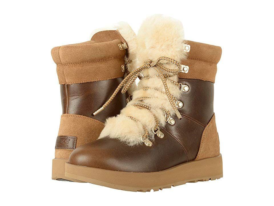 d99eebf1ae1 UGG Viki Waterproof (Chestnut) Women's Waterproof Boots. Hiking in ...