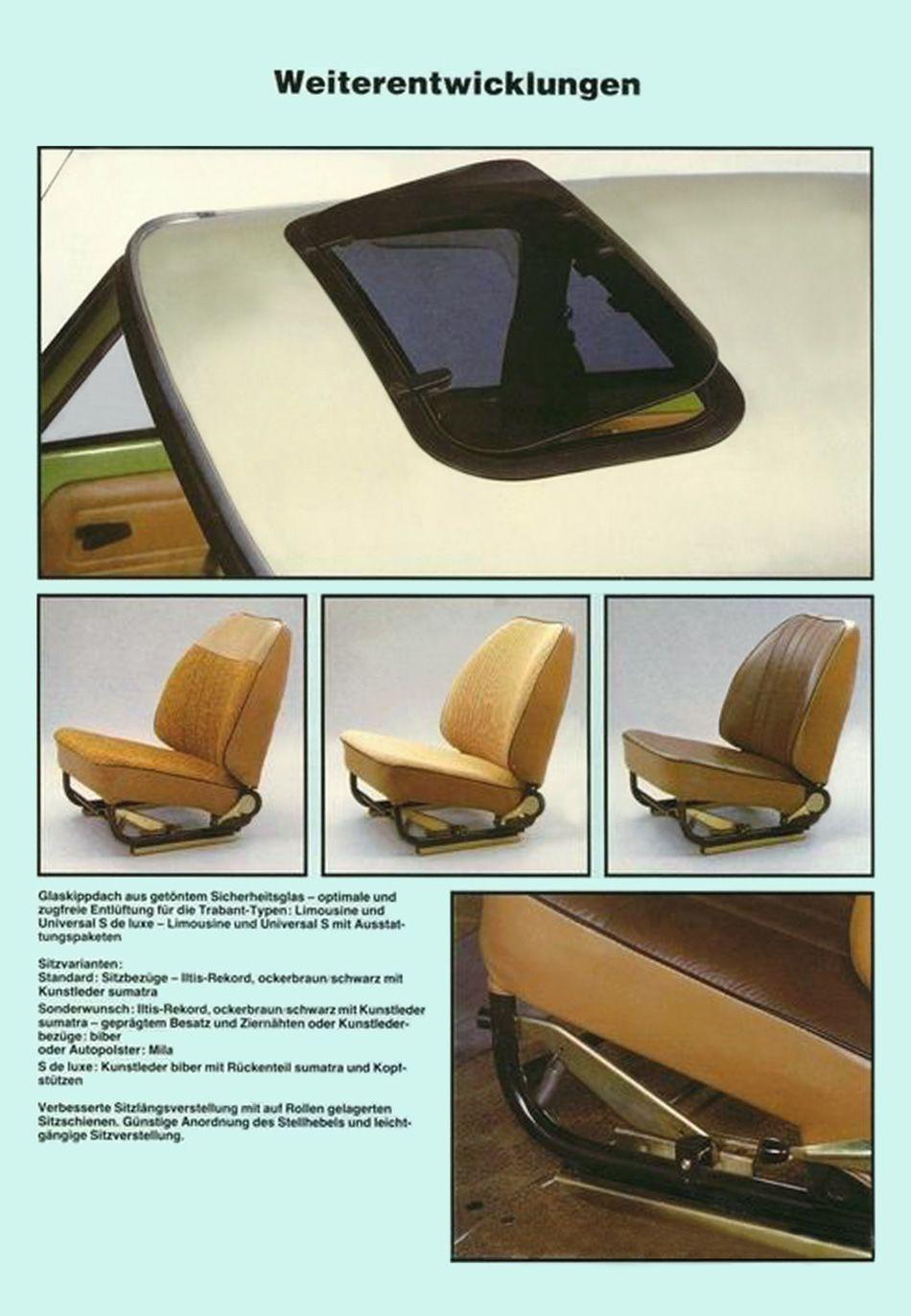 1988 Trabant 601 Limousine Und Universal Ddr Autos Limousine