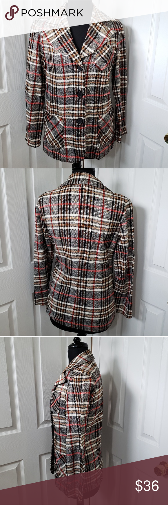 NPC Vintage 60s Wool Jacket