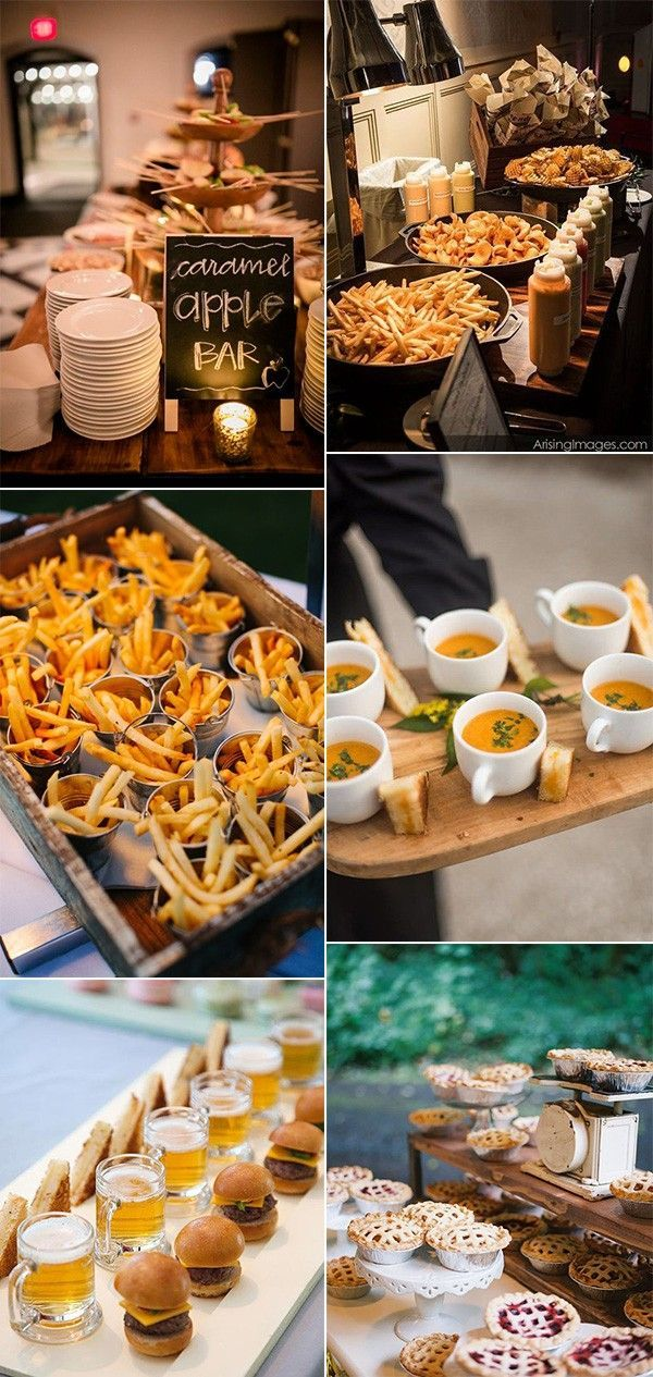 25 Fall Wedding Food Ideas Your Guests Will Love