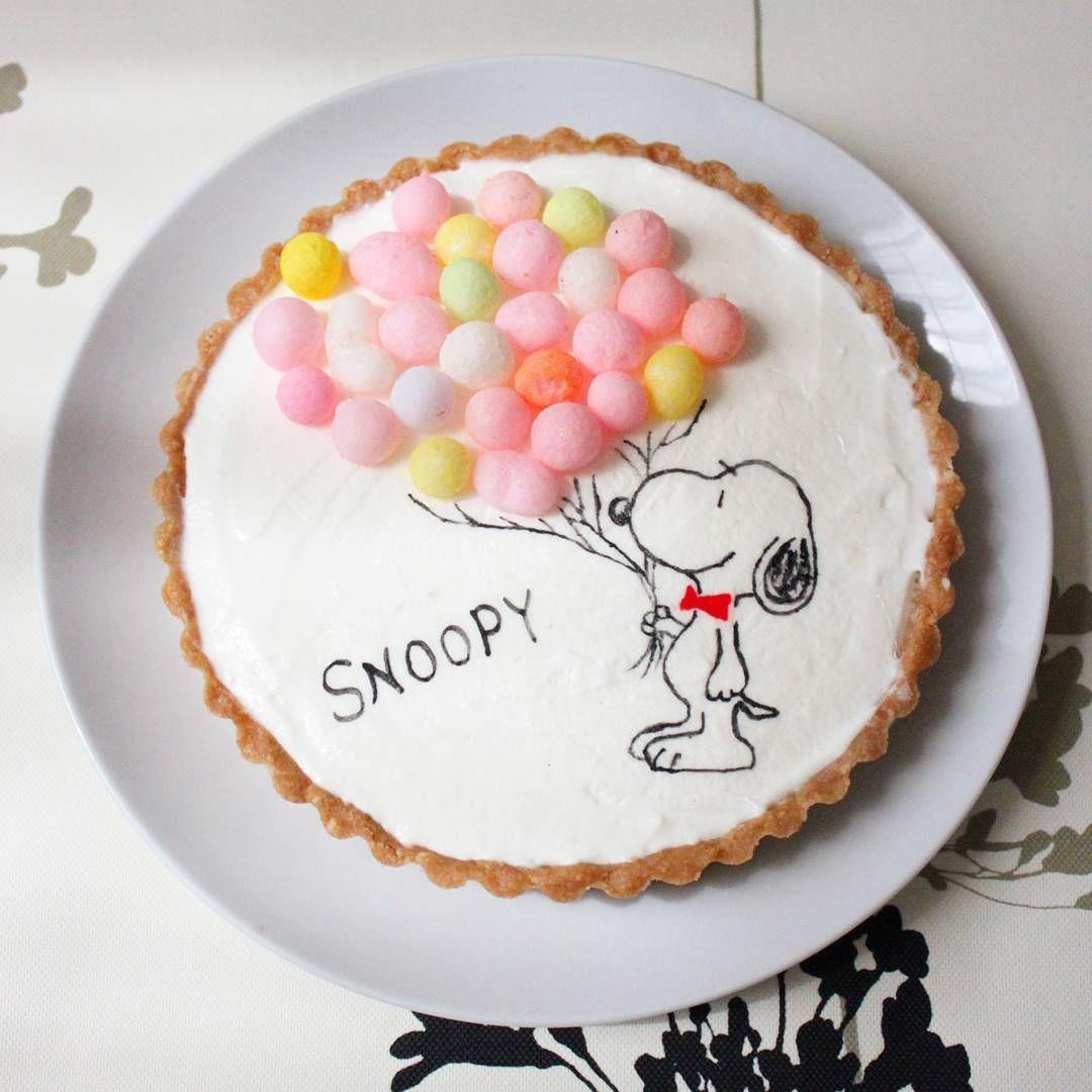 577 Me Gusta 1 Comentarios みき Miki 178 En Instagram 今日のおやつ 艸 レアチーズタルト おいり乗せ スヌーピーが風船持ってる風 実家にスヌーピー大好きな姪っ子が来てるので一緒に食べまーす おいり デザート スイーツ