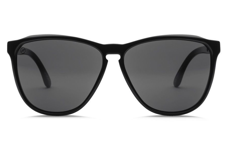 Electric - Encelia Gloss Black Sunglasses, Melanin Grey Lenses