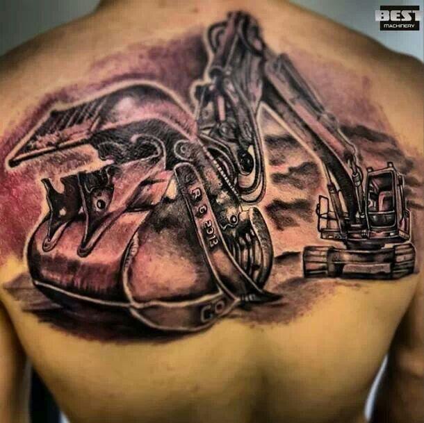 Tattoo A Real Machine Operator Explore Tattoo Tattoo Shop Crane Tattoo