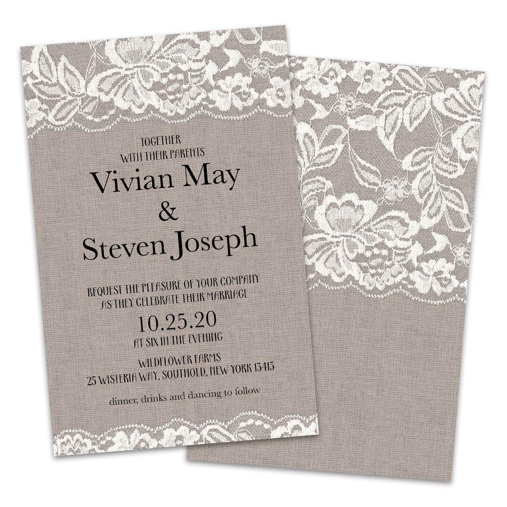 Wedding Invitations Walmart