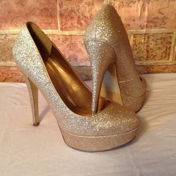 Gold glitter heels. Gold Glitter Heels5 Inch HeelsAldo ShoesHolidayPlatformsBoxTimesFiesta  PartySnare Drum