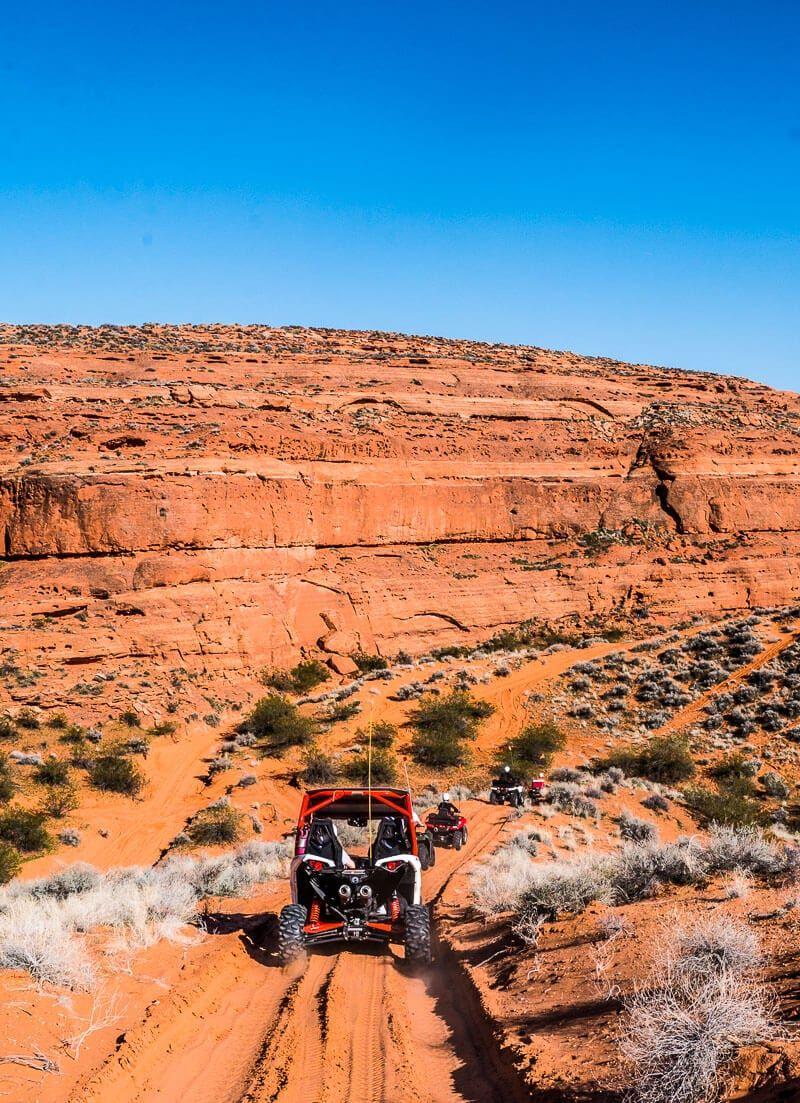 Exploring sand hollow state park utah on an atv adventure