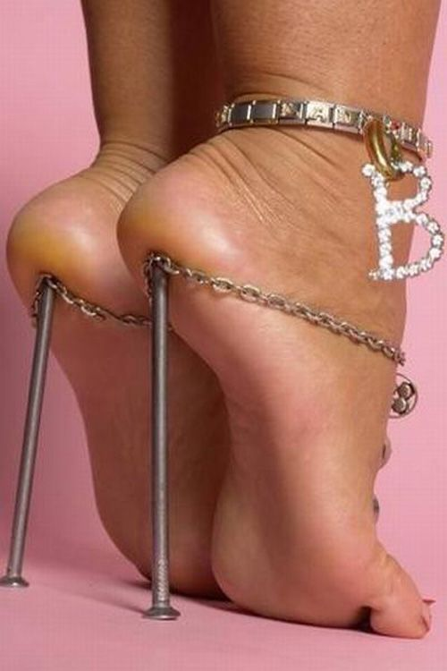 Image result for uncomfortable high heels