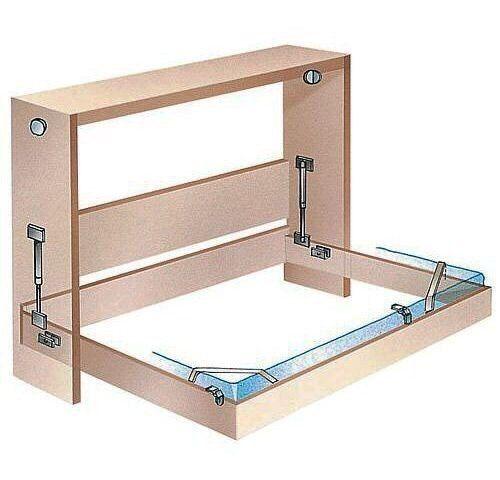 brauchen sie mehr platz im zimmer sie k nnen ein praktisches schrankbett selber bauen wie das. Black Bedroom Furniture Sets. Home Design Ideas