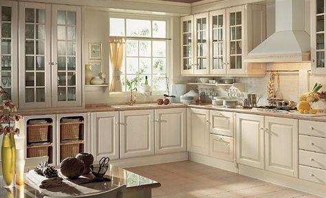 cucina bianca classica legno - Cerca con Google | arredamenti e ...
