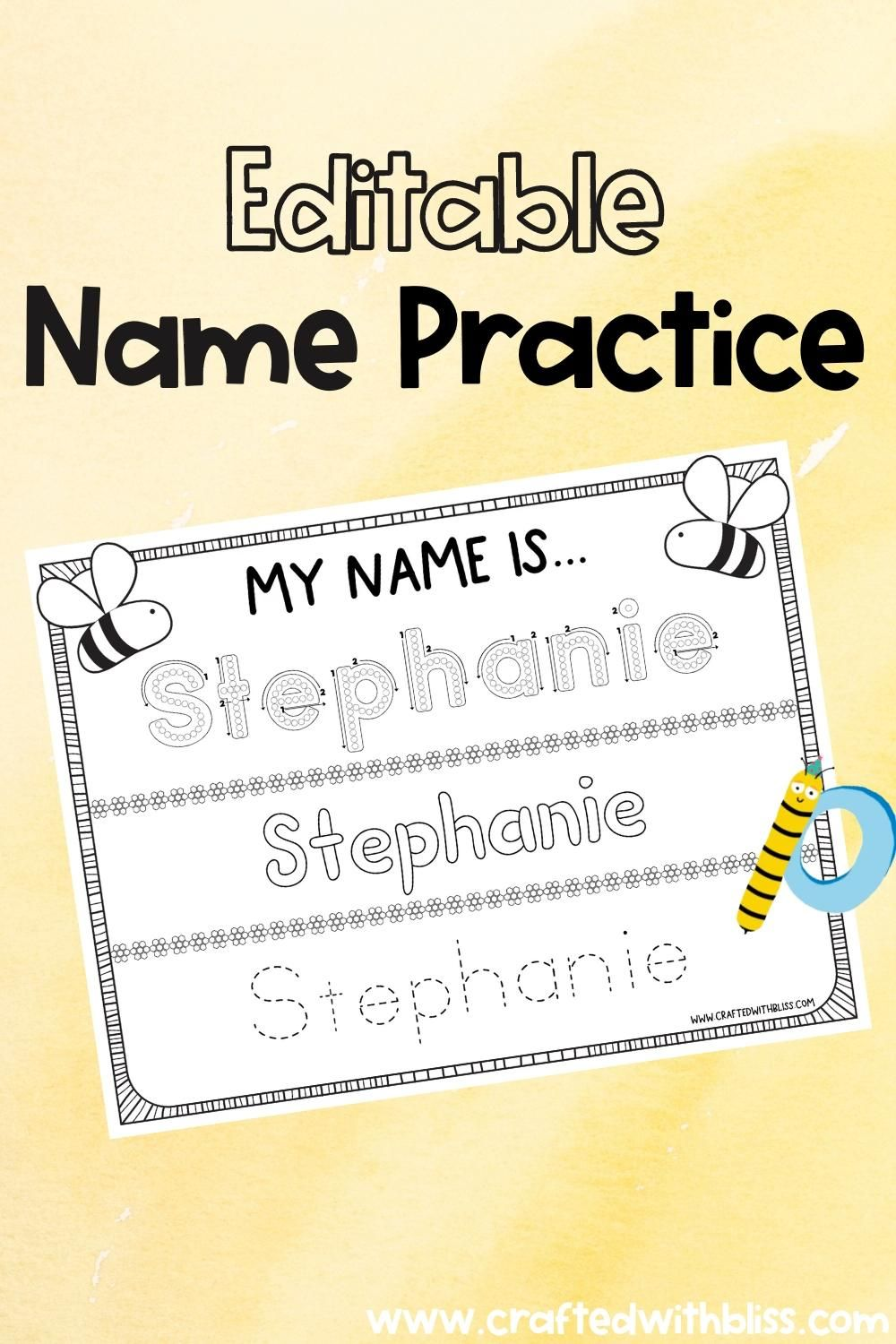 Editable And Instant Download Name Printable Name Tracing Etsy Video Video Printable Name Tracing Name Tracing Worksheets Tracing Worksheets [ 1500 x 1000 Pixel ]