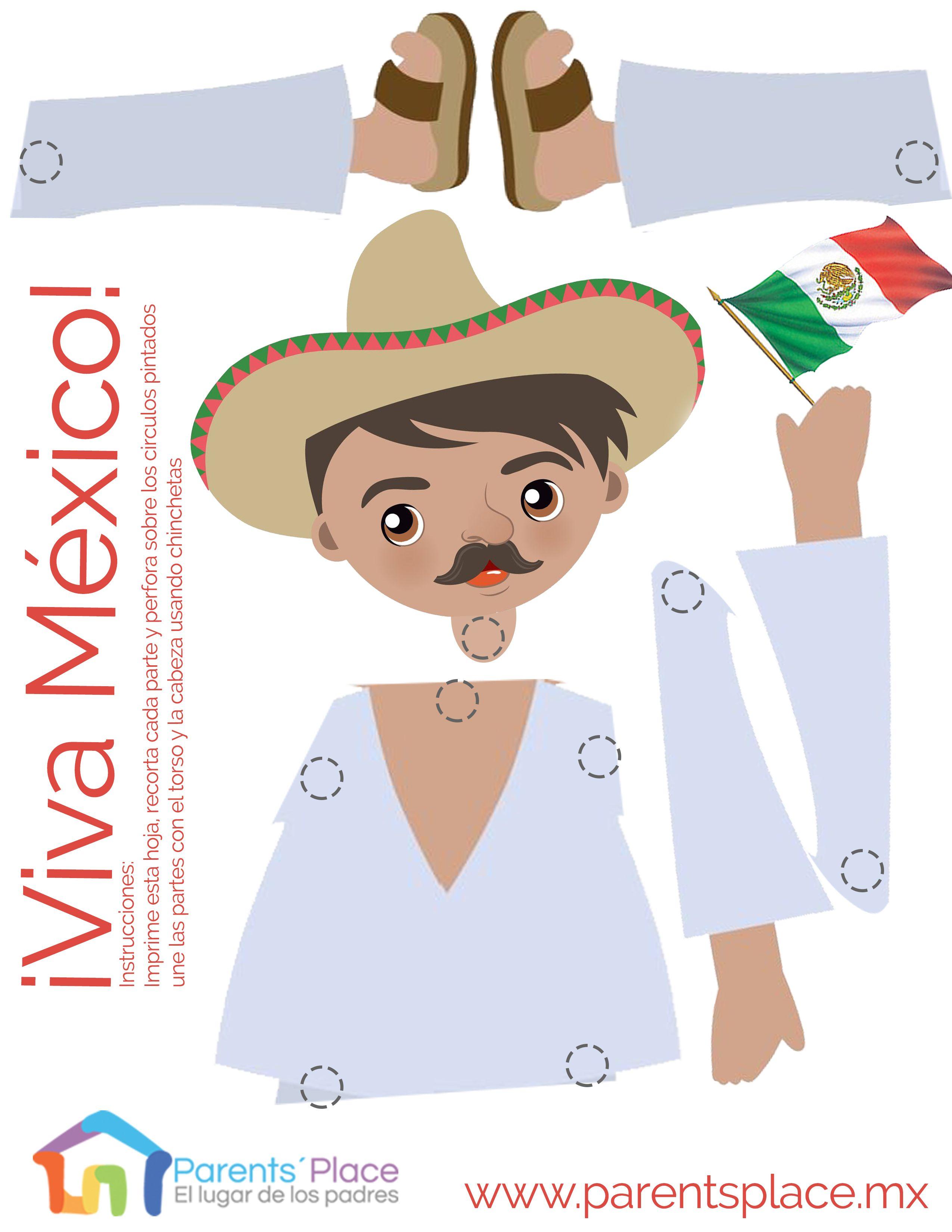 Marioneta Mexicana Board Matching Games Revolucion Mexicana Para