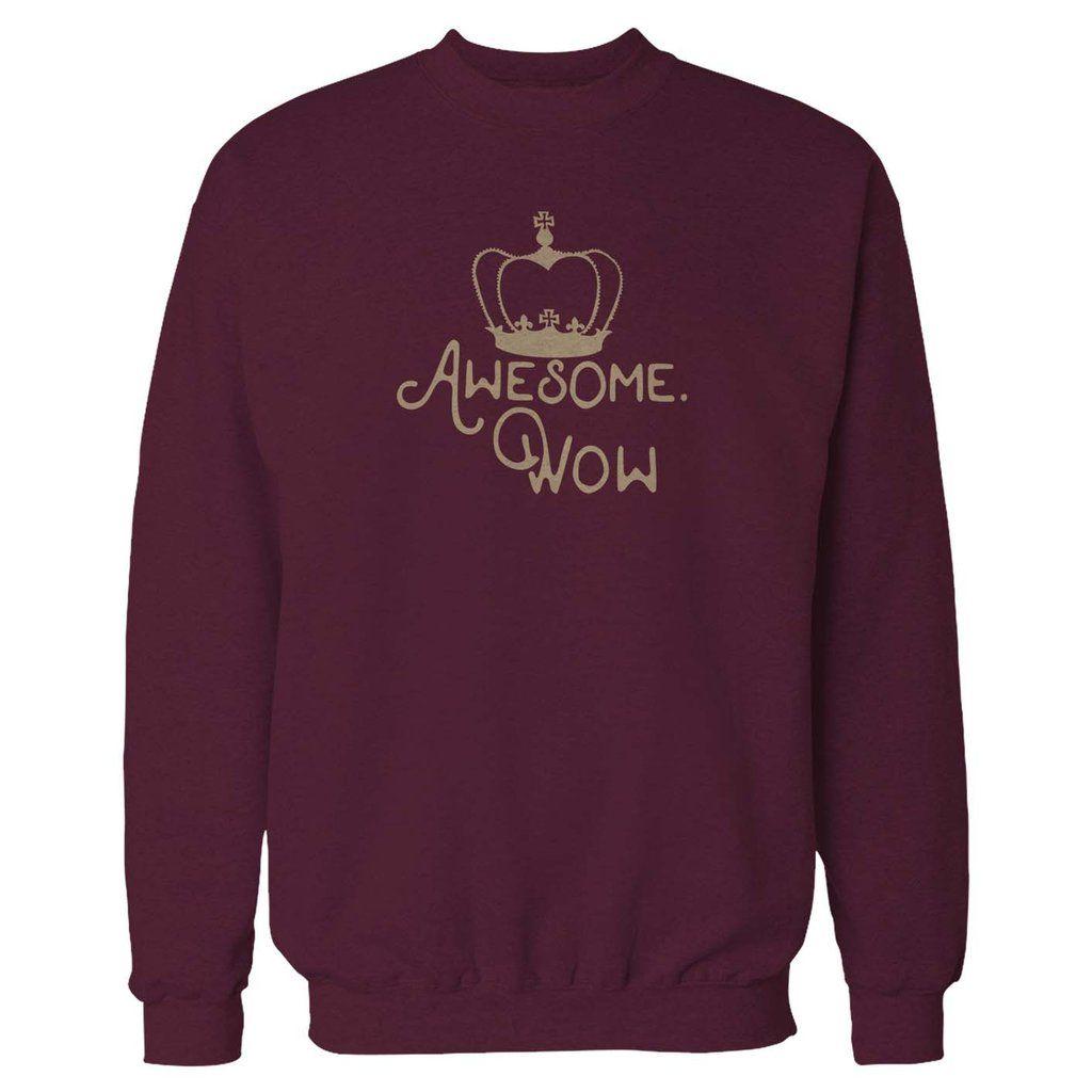Design your own t-shirt hamilton - King George Awesome Wow Hamilton Musical Sweatshirt