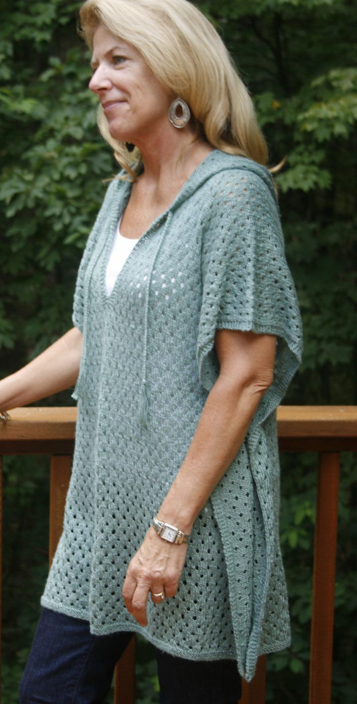 Free Knitting Pattern for Firefly Poncho | Terris favs | Pinterest ...