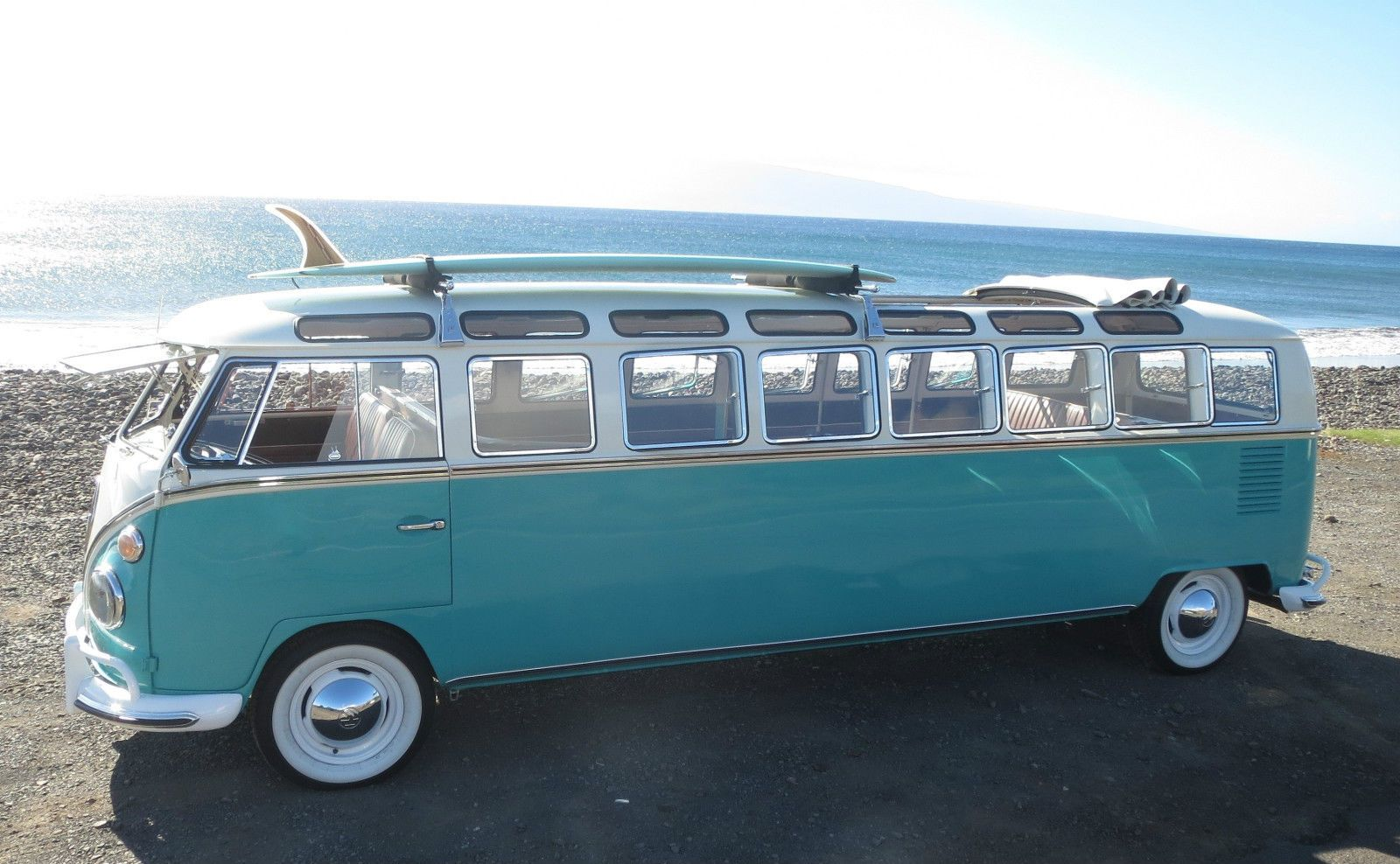 Ebay jaw dropper the world s only 33 window vw bus is for sale in hawaii