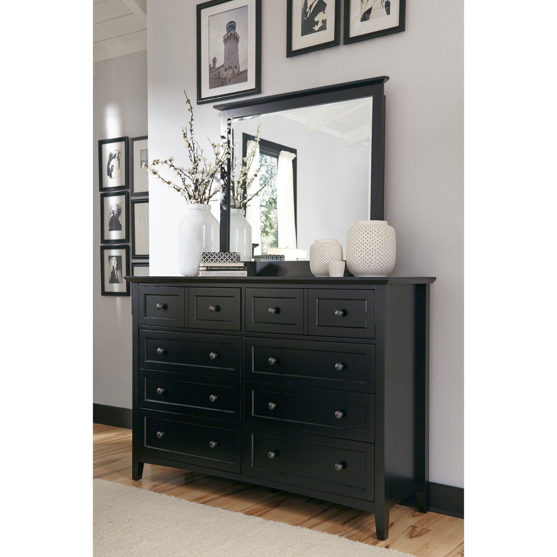 Modus Paragon 8 Drawer Dresser With Optional Mirror Dresser Decor Bedroom Black Bedroom Furniture Furniture [ 1800 x 1800 Pixel ]