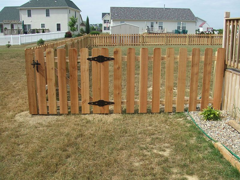 cedar picket fence dog ear spaced chain link fence prices