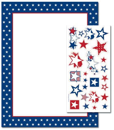 American Stars Letterhead
