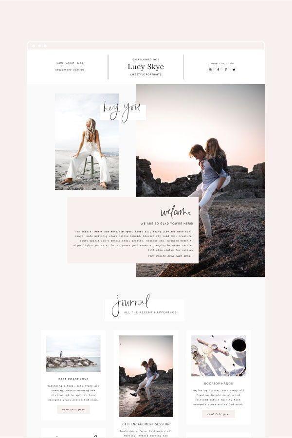 Madeyouswoone Showit Showit5 Showittemplate Showitwebsite Webdesigninspiration Forphotographers In 2020 Webdesign Layouts Fotografie Website Web Design