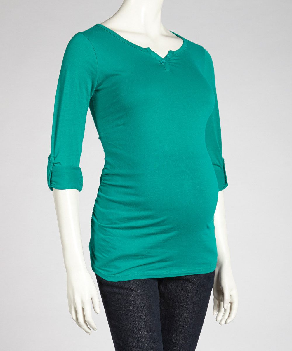 Emerald maternity henley women pregnancy must haves pinterest