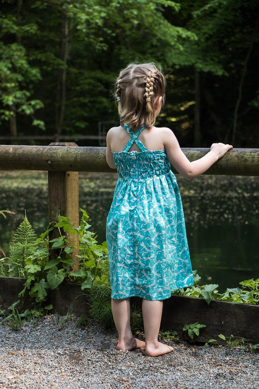 Einfache Sommerkleider mit Smoktechnik | Ying Design ...