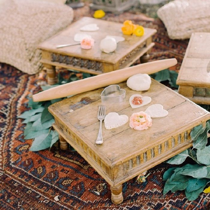 Bohemian bridal shower decor | fabmood.com #bridalshower #wedding