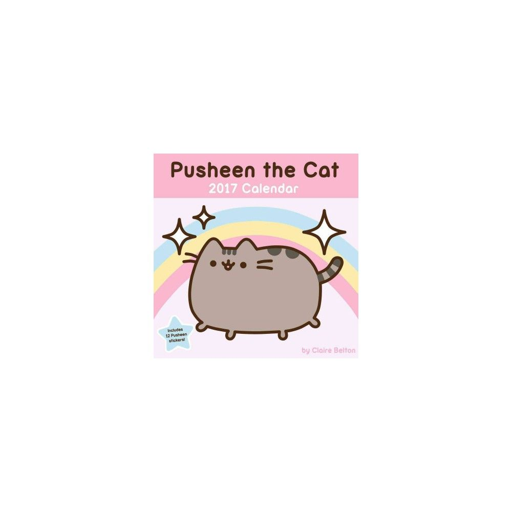 Pusheen The Cat 2017 Calendar (Paperback) (Claire Belton)